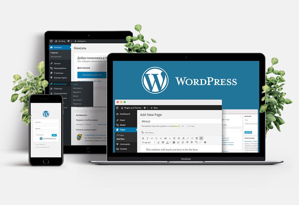 Разработка сайта на WordPress без знания программирования (2021)